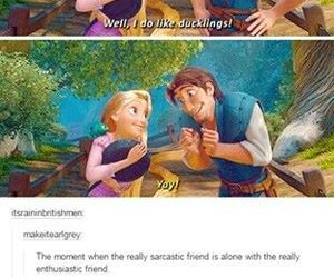 funny, tangled, and tumblr image