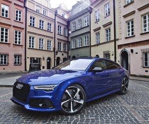 audi, german, and car image