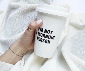 white, coffee, and morning image