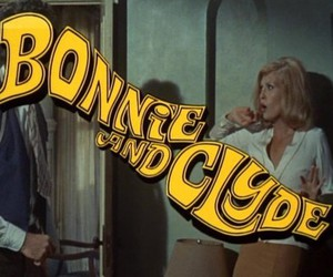 bonnie and clyde, movie, and couple image