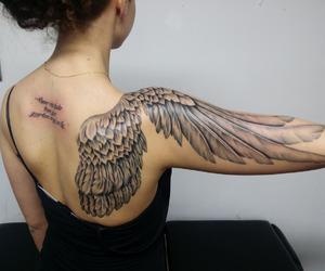 ink, nice, and tattoo image