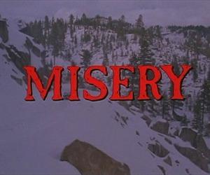 misery, movie, and grunge image