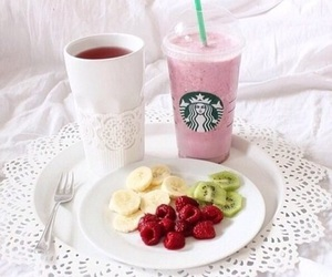 starbucks, breakfast, and food image