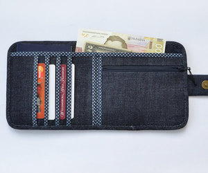 etsy, jeans purse, and womens wallet image