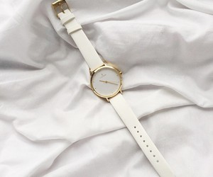 white, watch, and clock image