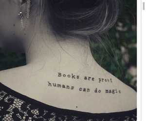 book, tattoo, and love image