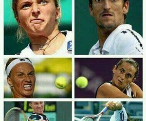 funny, tennis, and lol image