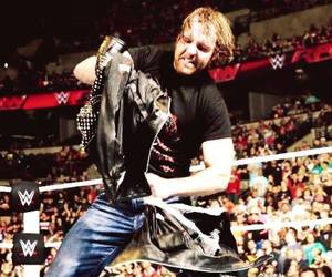 dean, raw, and wwe image