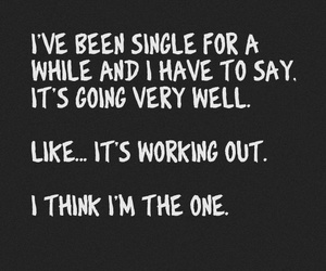 single, quotes, and funny image