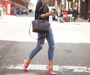 chic, nyc, and outfit image