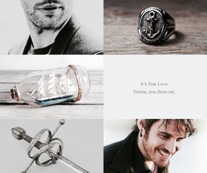 hook, once upon a time, and pirate image
