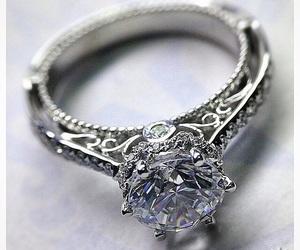 ring, beautiful, and diamond image