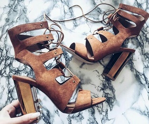 camel, girly, and sandals image