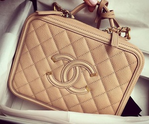 bag, chanel, and Nude image