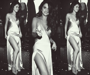 selena gomez, beauty, and dress image