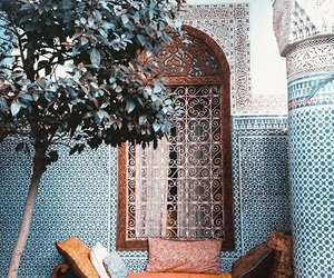 blue, orange, and morocco image