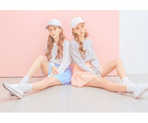 beauty, moda, and k-fashion image