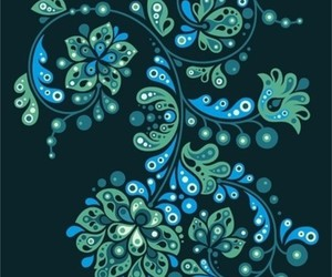blue, drawing, and patterns image