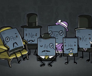 funny and noble gases image