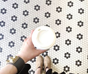 blogger, cafe, and fashion image