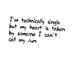 single, heart, and taken image