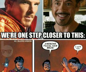 Marvel, tony stark, and iron man image