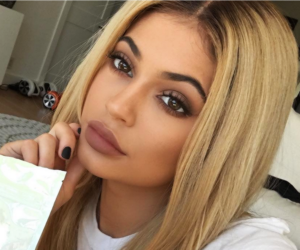 kylie jenner, makeup, and hair image