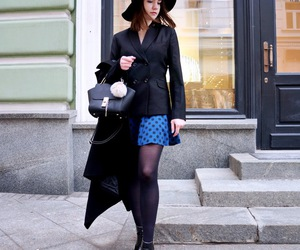 blazer, blogger, and chic image
