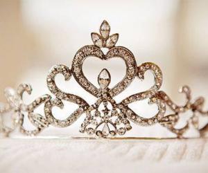 princess, crown, and tiara image