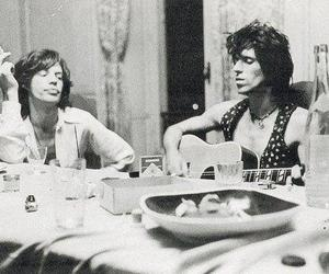 black and white, the rolling stones, and Forever Young image