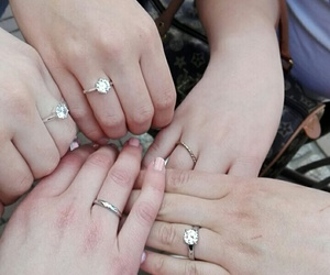 engaged, love, and friendship image