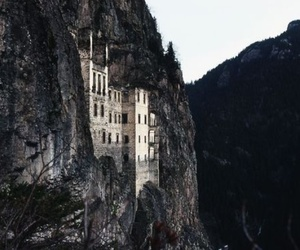 castle, mountains, and photography image