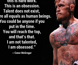 quote, conor, and motivation image