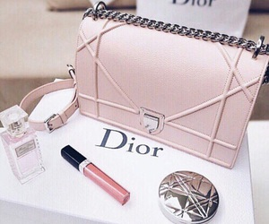 dior, bag, and pink image