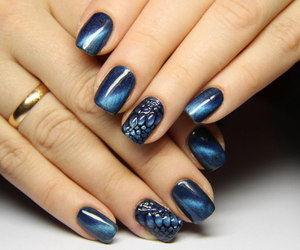 art, nails, and photography image