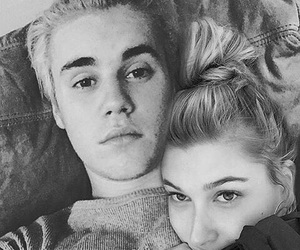 justin, justin bieber, and hailey baldwin image