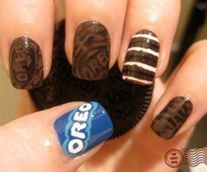 Cookies, food, and nails image
