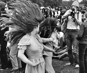 woodstock, hippie, and vintage image