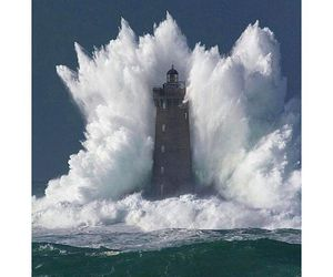 beacon, travel, and waves image