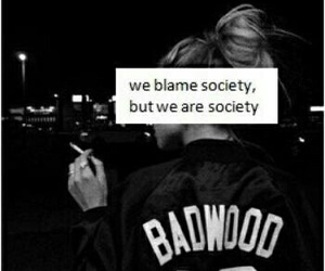 society, grunge, and quote image