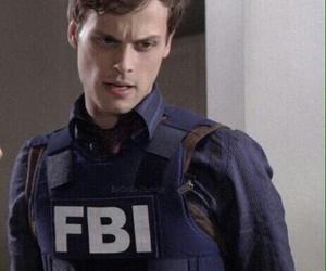 criminal minds, matthew gray gubler, and fbi image