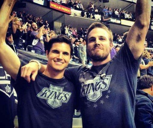 brothers, robbie amell, and handsome image