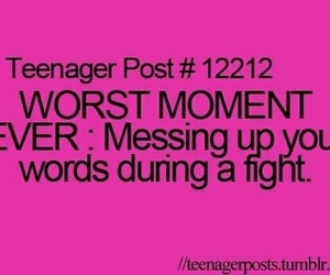 teenager post, funny, and fight image