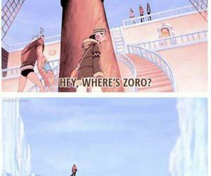 funny, lost, and one piece image