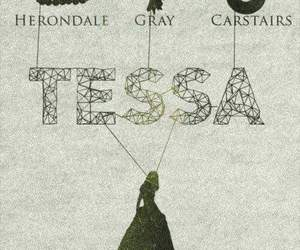 tessa gray, william herondale, and james carstairs image