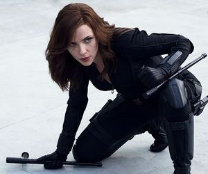 black widow, natasha romanoff, and Marvel image
