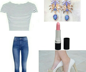 beige, clothes, and heels image
