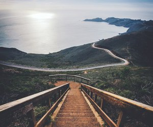 nature, travel, and sea image