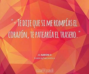 corazón roto, aaron2, and patear traseros image