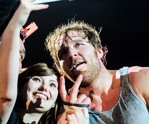 wwe, dean ambrose, and dean ambrose and fan image